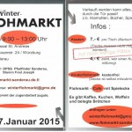 Flyer Winterflohmarkt
