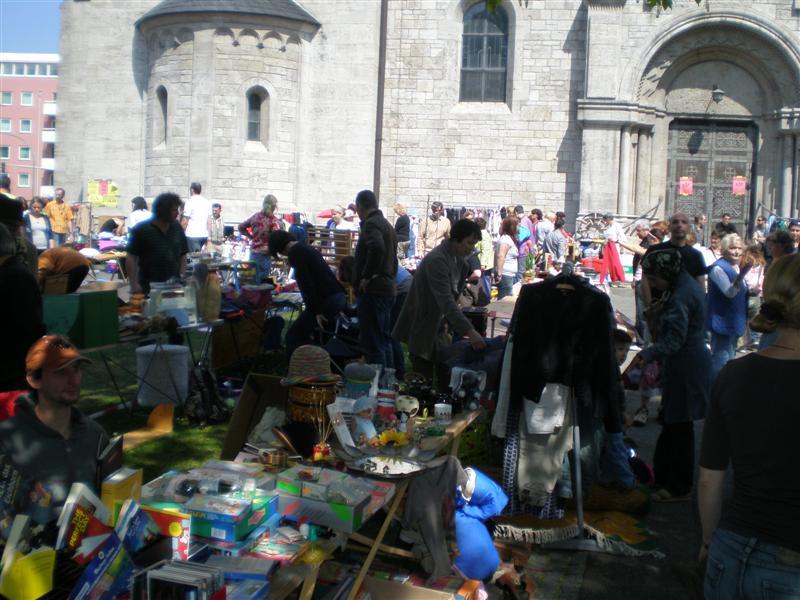 Flohmarkt am 26.04.2014