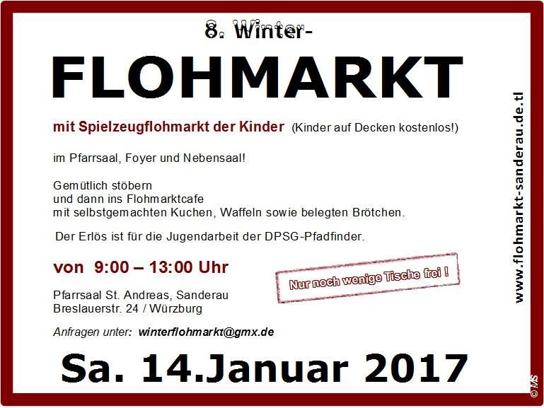 Flyer Winterflohmarkt