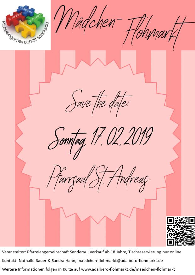 Mädchen-Flohmarkt - Save the date: 17.02.2019